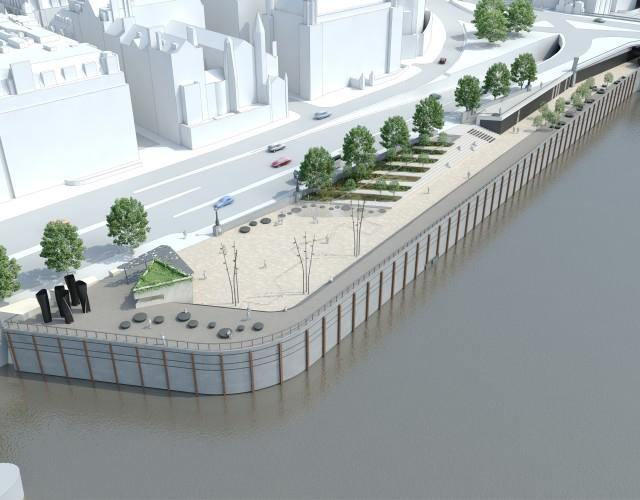 Image of Thames Tideway Tunnel Public Realm Regeneration