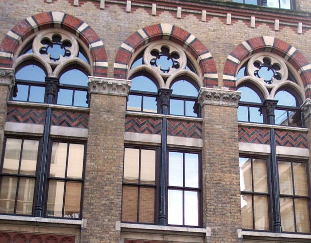 Image of Farringdon Road listed building development