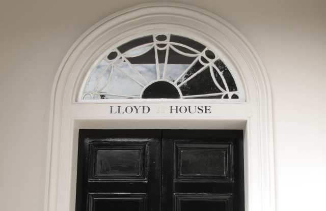 Photo of completed works - restored entrance