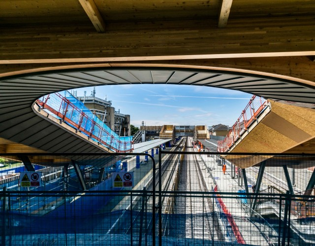 Image of The only completely new station on Crossrail was delivered to provide a seamless multi modal interchange. Its ambitious design resolves complex urban design issues and was developed in close collaboration with multiple stakeholders through a productive working relationship with our contractor client.