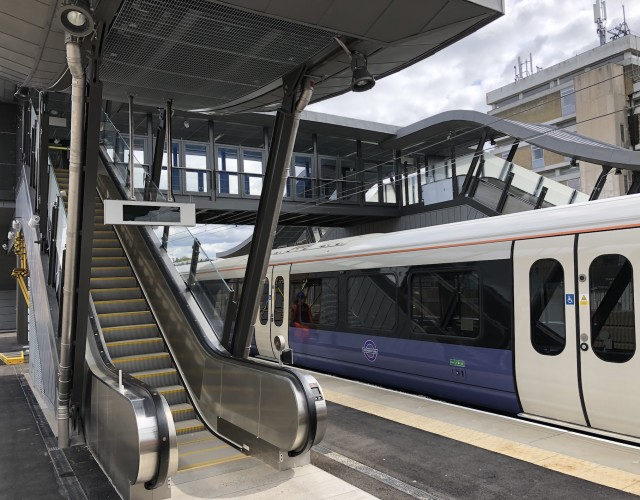 Image of Abbey Wood Station nears completion
