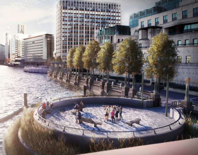 Image of Tideway unveil vision for new public spaces along the River Thames