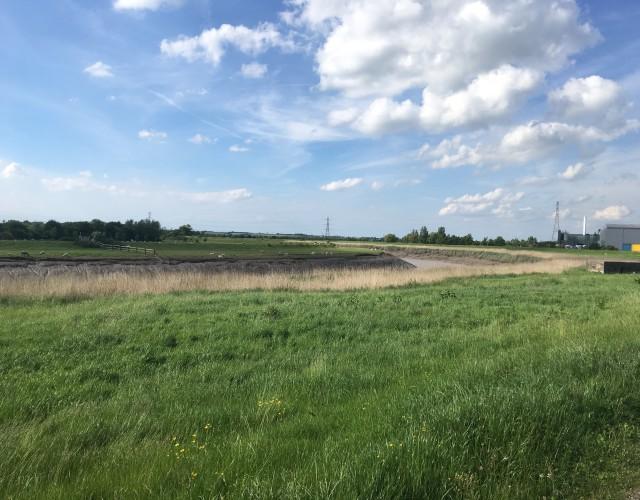 Image of Bridgewater flood barrier