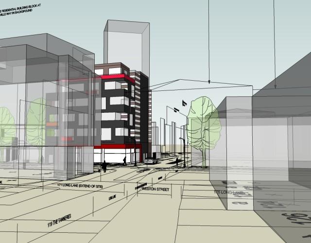 Image of Southwark brownfield regeneration